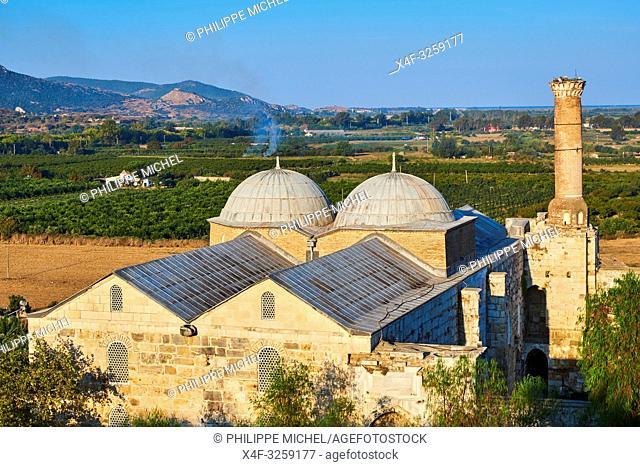 Turkey, Izmir province, Selcuk city, archaeological site of Ephesus, Isa Bey mosque