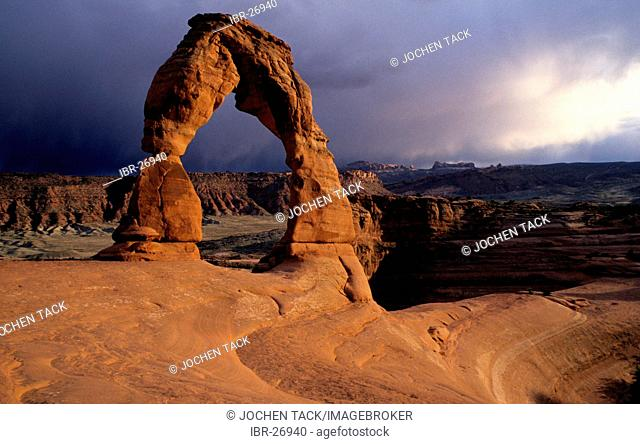 Delicate Arch, Arches National Park, Utah, United States of America, USA