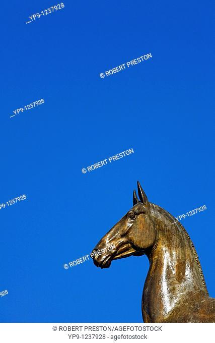 Turkmenistan - Ashgabat - Berzengi - the monument to 10 years of Independence
