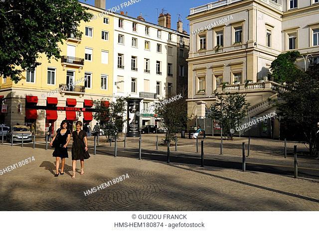 France, Loire, Saint Etienne, Jean Jaures square