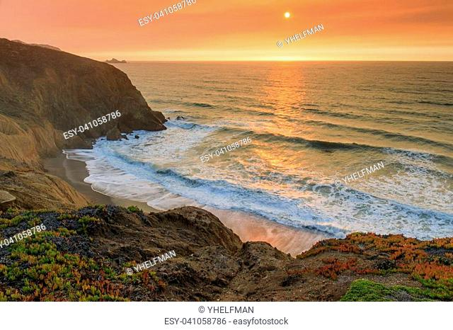 Mori Point, San Mateo County, California, USA