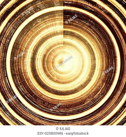 Old designed texture as abstract grunge background. With different color patterns: yellow (beige); brown; gray; black