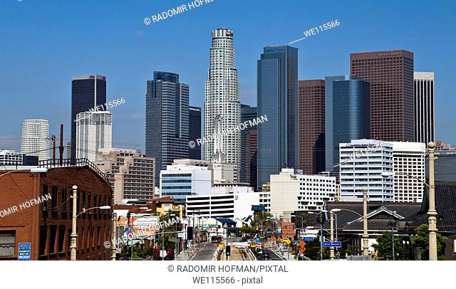 Downtown Los Angeles, California, USA