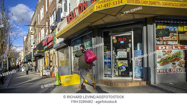 A deli in the Bay Ridge neighborhood of Brooklyn in New York on its last day, Sunday, January 6, 2019. (© Richard B. Levine)