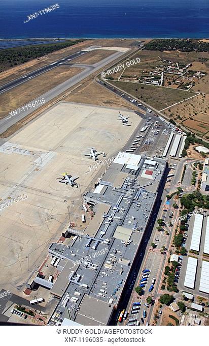Airport Es Codolar, Ibiza, Balearic Islands, Spain