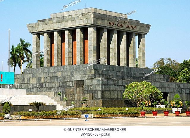Ho-Chi-Minh Mausoleum, Hanoi, Viet Nam