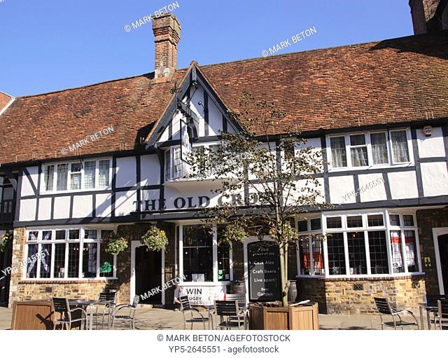 The Old Cross Pub North Street Chichester West Sussex