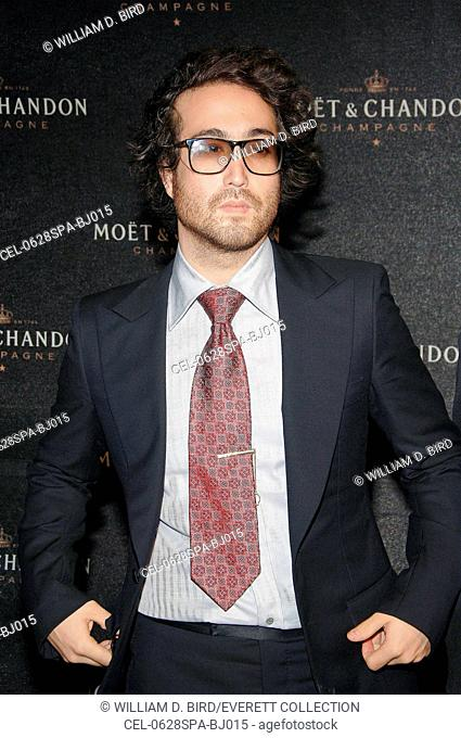 Sean Lennon at arrivals for Moet & Chandon Fabulous Fete celebrates 120 years of the Statue of Liberty & Chandon White Star Champagne, Liberty Island, New York