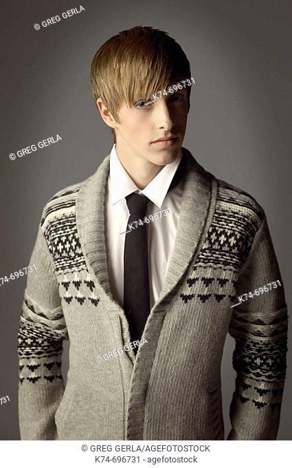 Fashion image of male