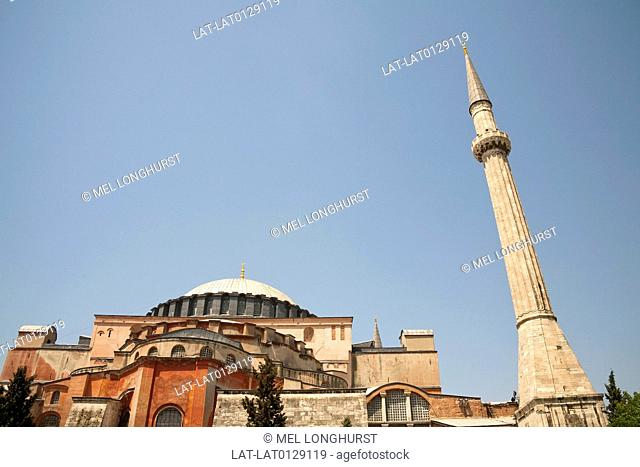 Aya Sofaa or Haghia Aghia Sophia was the greatest Christian cathedral of the Middle Ages, later converted into an imperial mosque by the Ottoman Empire