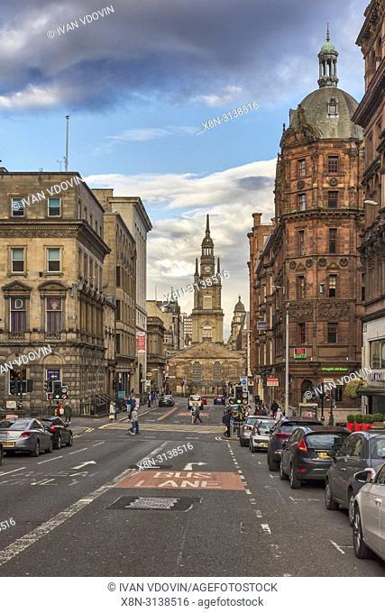 St George's Tron Parish Church, Glasgow, Lanarkshire, Scotland, UK