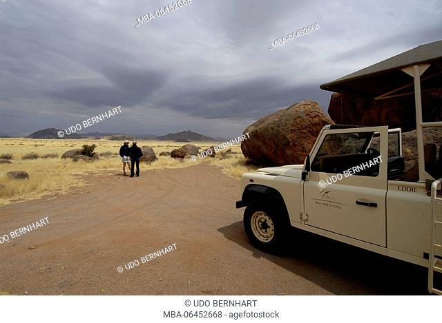 Africa, Namibia, NamibRand Nature Reserve, Wolwedane safari