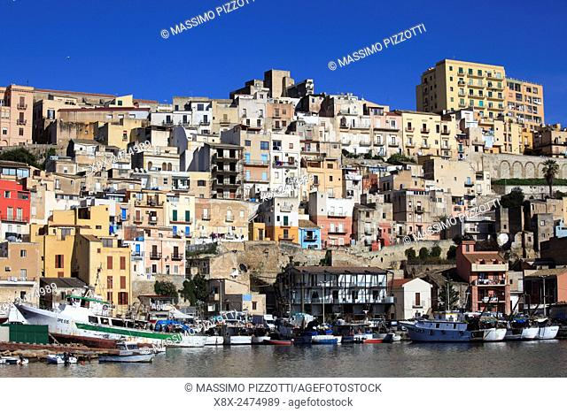 Port of Sciacca, Sicily, Italy
