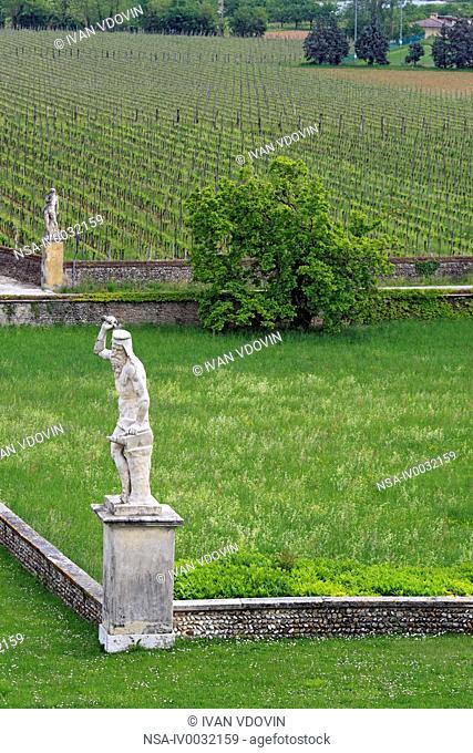 Villa Barbaro Villa di Maser by Andrea Palladio, Maser, Veneto, Italy