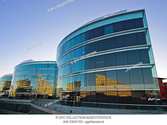 Maison de la paix, Graduate Institute of International and Development Studies, Institut de hautes études internationales et du développement, IHEID,Geneva