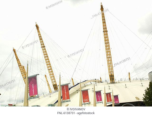 Millennium Dome, Greenwich, London, Great Britain, Europe