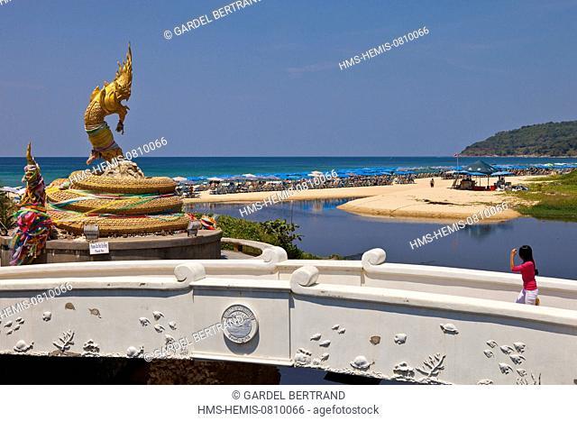 Thailand, Phuket Province, Phuket, the beach of Karon