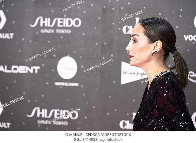 Tamara Falco attends Los 40 Music Awards at Wizink Center on November 8, 2019 in Madrid, Spain