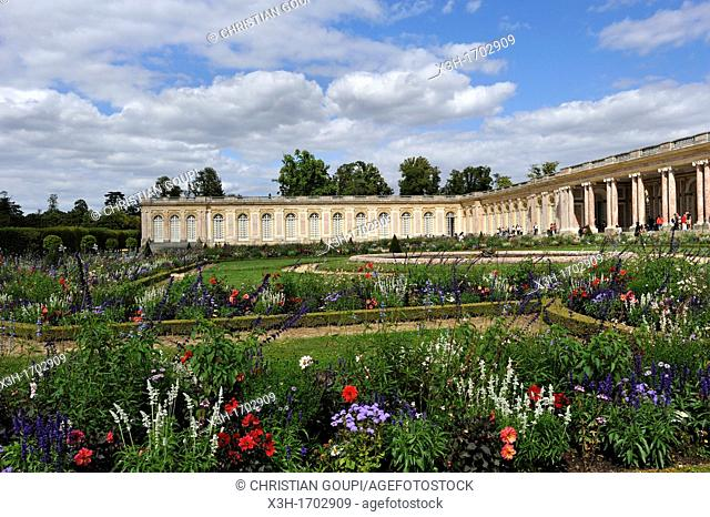 gardens of the Grand Trianon, Domain of Versailles, Yvelines departement, France, Europe