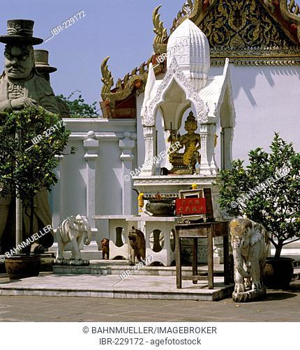 Bangkok Thailand Wat Pho temple built from 1789