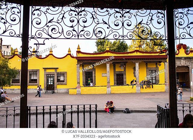Casa De Cortes, Casa Municipal, Plaza Hidalgo, Coyoacan, Mexico City, Mexico
