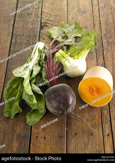 remolacha, hinojo y acelga / beet, fennel and chard