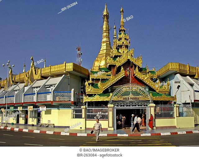 Sule Pagoda, Yangon, Rangoon, Myanmar, Burma