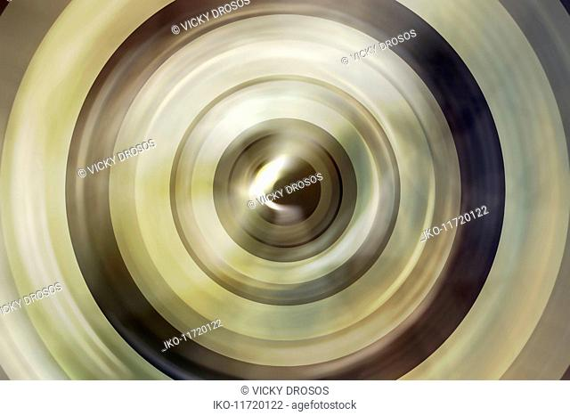 Abstract full frame backgrounds pattern of concentric circles