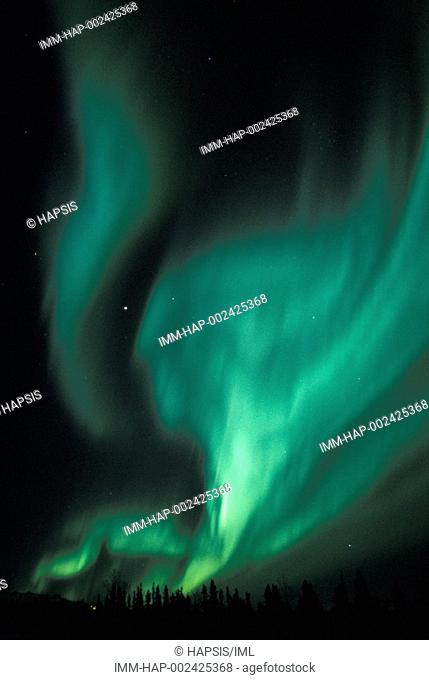 Aurora Borealis  Alaska, United States, North America
