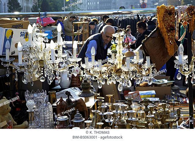 flea market, Austria, Vienna, 5. district, Vienna - Naschmarkt