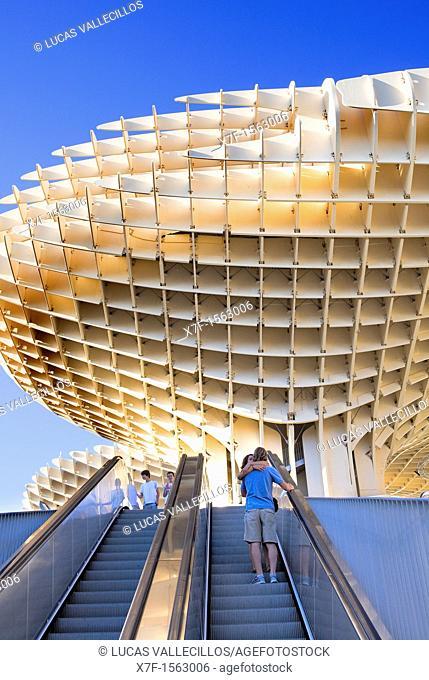 Metropol Parasol, in Plaza de la Encarnación, Sevilla, Andalucía, Spain