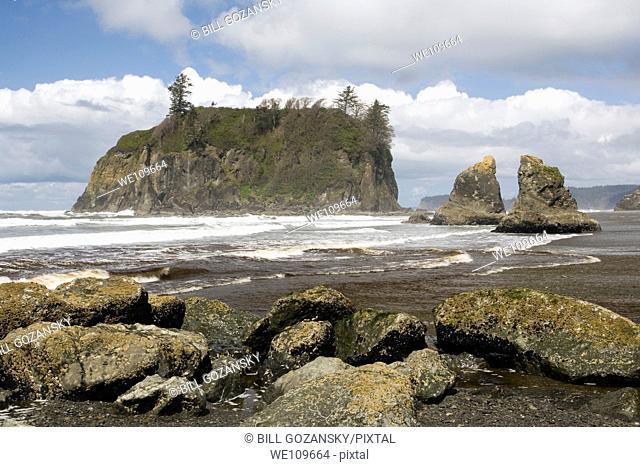 Ruby Beach - Olympic National Park, Washington