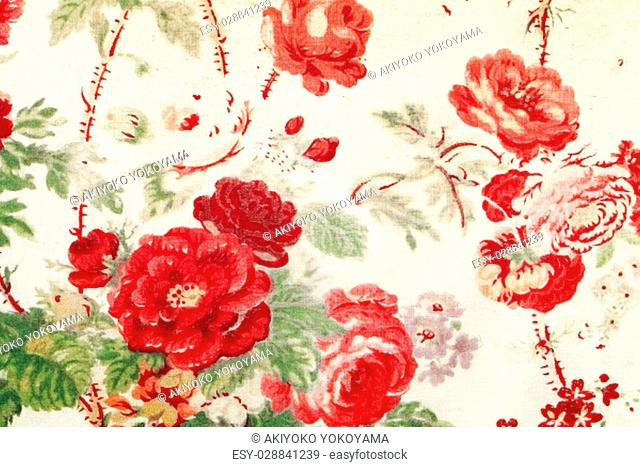 Close up of flower pattern background