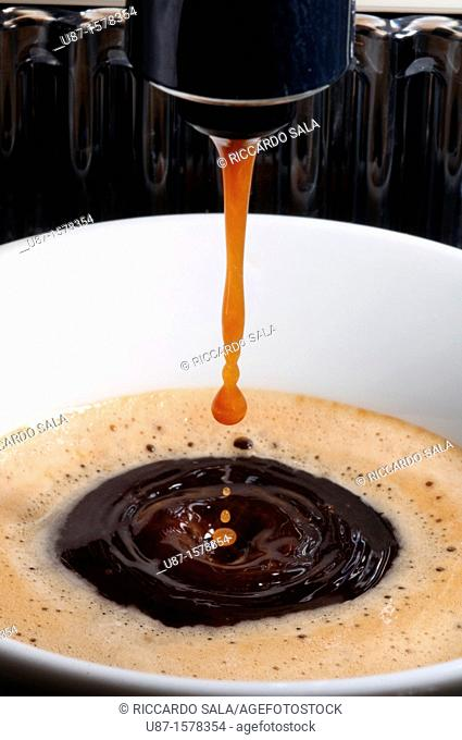 Cup of Coffee with drop