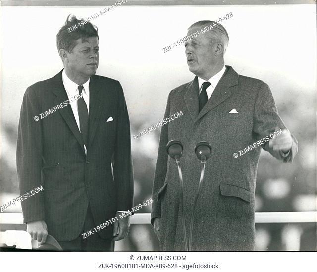 Jan 1, 1960 - Harold Macmillan meets U.S. president John F. Kennedy on his visit to Britain, June 29, 1963 (Credit Image: © Keystone Press Agency/Keystone USA...
