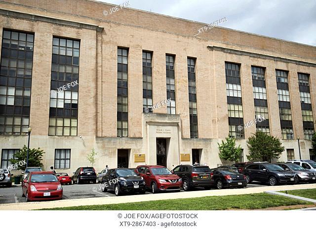 wilbur j. cohen federal building formerly the railroad retirement board Washington DC USA