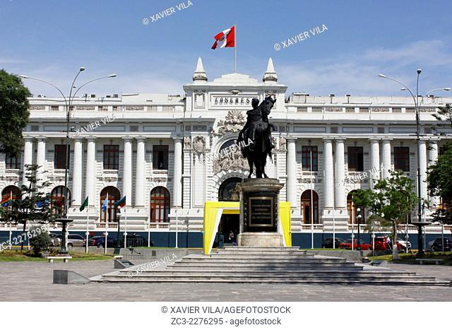 Congress of the Republic of Peru, Congreso de la Republica del Peru, Lima, capital of Peru