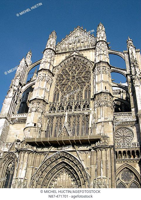 Cathedral. Beauvais. Oise. France