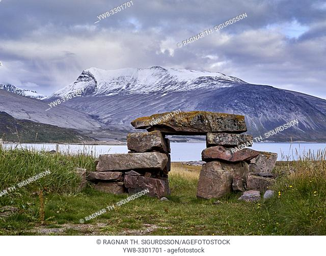 Igaliku ancient Norse ruins at Gardar, South Greenland