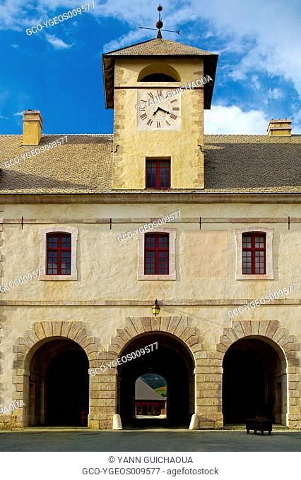 THE MAIN GATE, MONT-DAUPHIN, HAUTES ALPES, PACA, FRANCE
