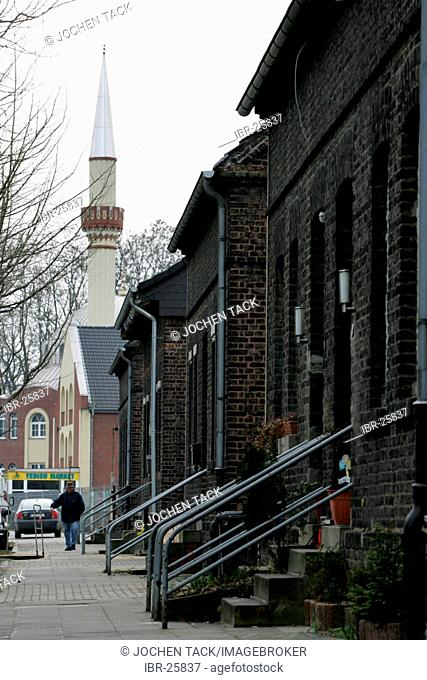 DEU, Germany, Essen : Fatih mosque.Katernberg, poorest city district in western germany. Lowest household income in the City of Essen