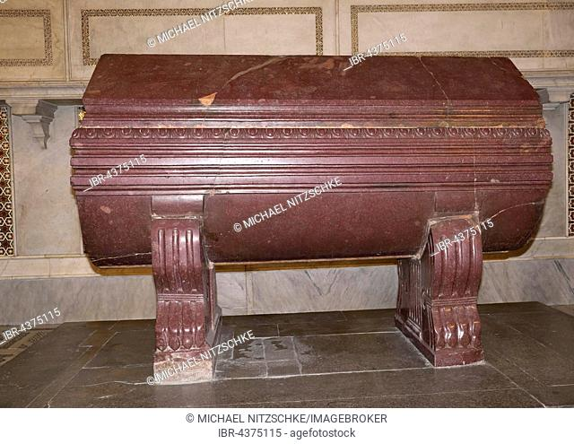 Sarcophagus of William I of Sicily, Monreale Cathedral, Monreale, Sicily, Italy