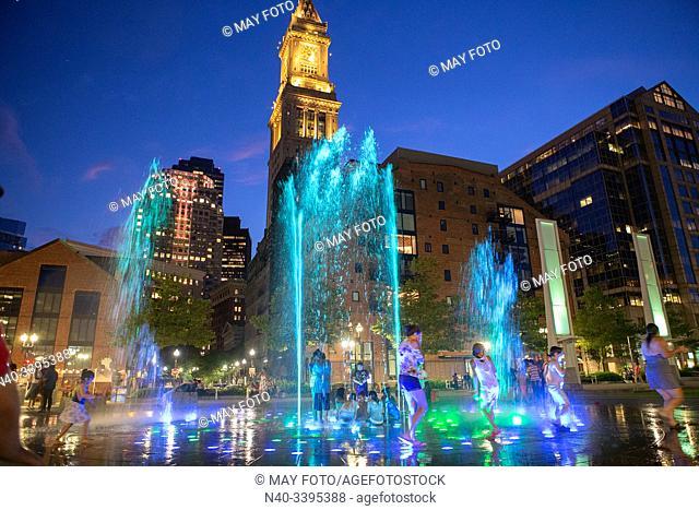 Boston Downtown, Massachusets, United States