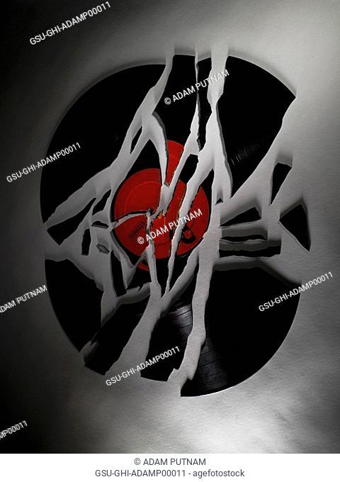 broken records, shattered, music