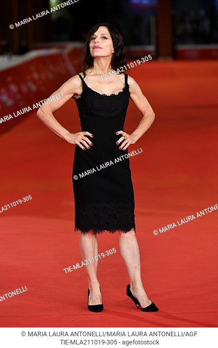 The director Melora Walters poses during the red carpet for 'Drowing' at the 14th annual Rome Film Festival, in Rome, ITALY-20-10-2019