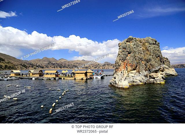 South America Bolivia Lake Titicaca