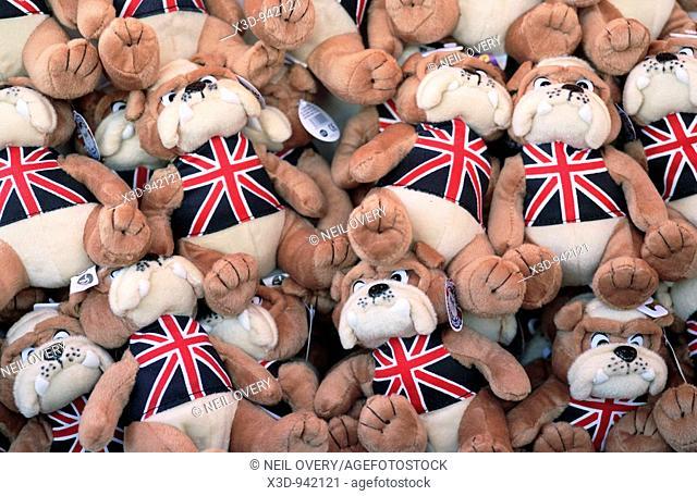 Soft Plush toys British Bulldog Union Jack