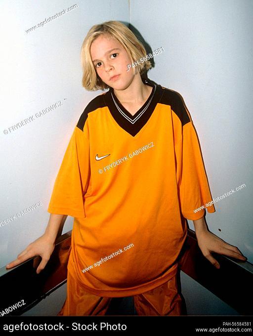Aaron Carter on 14.03.1998 in Bangkok. | usage worldwide. - Bangkok/Thailand