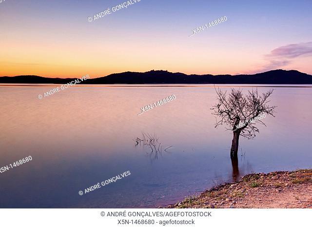 Alqueva Dam, Alentejo, Portugal, Europe