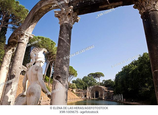 Canopus Hadrian's villa Tivoli Italy